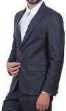 VASTRA Solid Single Breasted Formal, Wed...
