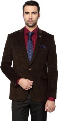 Van Heusen Solid Single Breasted Casual Men's Blazer