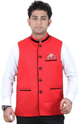 GetAbhi Solid Single Breasted Casual, Party Men's Blazer