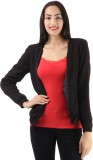 Only Solid Tuxedo Style Casual Women's B...
