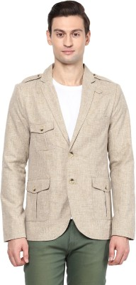 Yepme Solid Single Breasted Casual Men's Blazer