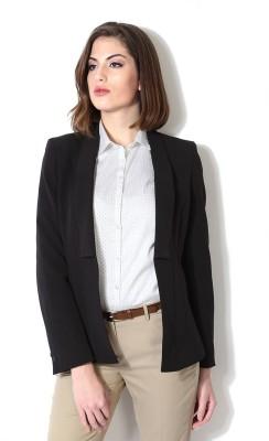 Allen Solly Solid Single Breasted Formal Women's Blazer