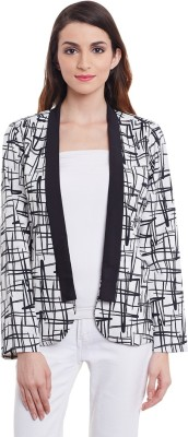 Purys Printed Single Breasted Formal Women's Blazer