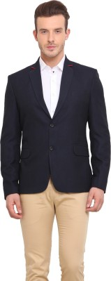 Ennoble Solid Single Breasted Casual Men's Blazer