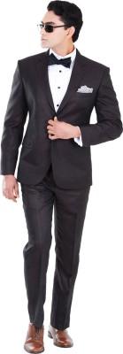 Hangrr Premium Single Breasted Solid Men's Suit