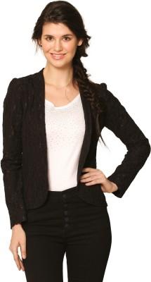 Unimod Self Design Mandarin Formal Women's Blazer