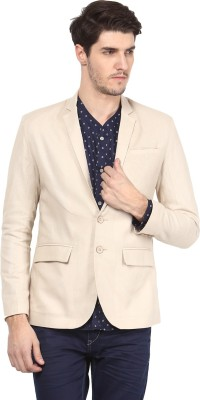 Atorse Solid Single Breasted Casual Men,s Blazer