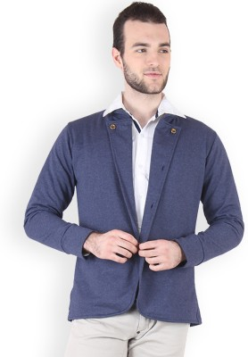 Incynk Solid Tuxedo Style Casual Mens Blazer