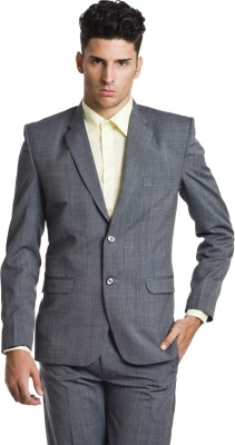 Wintage Solid Single Breasted Formal Men,s Blazer