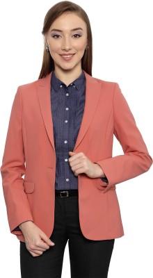 Allen Solly Solid Double Breasted Formal Women's Blazer
