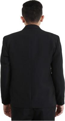 BrandTrendz Solid Single Breasted Formal Men's Blazer