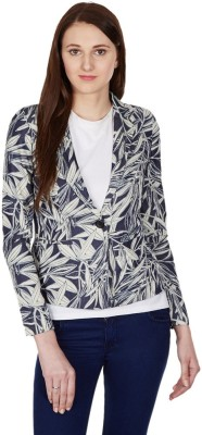 American Swan Self Design Single Breasted Casual Women's Blazer