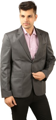 Colors Striped Single Breasted Casual, Party, Wedding, Formal Men's Blazer