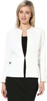 Martini Solid Mandarin Formal Women's Blazer