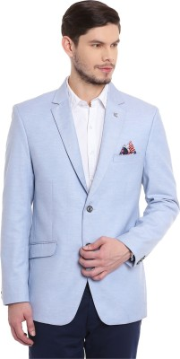 Canary London Solid Single Breasted Casual, Party, Formal, Wedding Men's Blazer