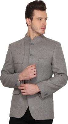 Envoy Solid Single Breasted Casual Men's Blazer