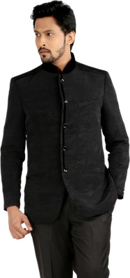 Oxemberg Solid Mandarin Formal Men's Blazer