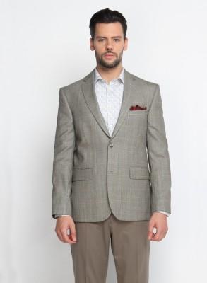 SUITLTD Solid Single Breasted Casual Men's Blazer
