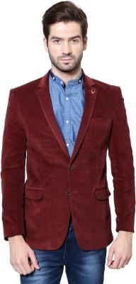 Allen Solly Solid Single Breasted Casual Men's Blazer