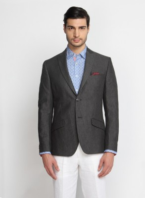 Suit Ltd Striped Single Breasted Casual Men's Blazer