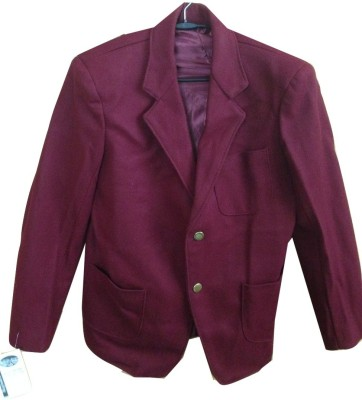 Rajindras Solid Single Breasted Casual, Party, Festive, Formal Mens, Womens Blazer