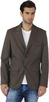 Fahrenheit Solid Single Breasted Casual Men's Blazer