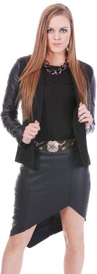 Lioness Solid Single Breasted Party Women's Blazer