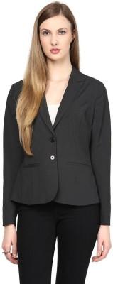 Fashion N Style Solid Single Breasted Formal Women's Blazer