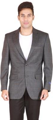 Rhydon Self Design Single Breasted Casual Men's Blazer