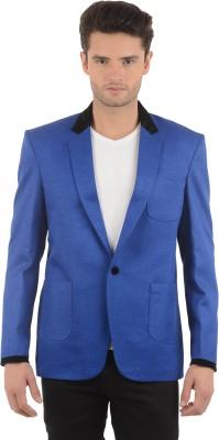 Azio Design Solid Single Breasted Casual Men's Blazer