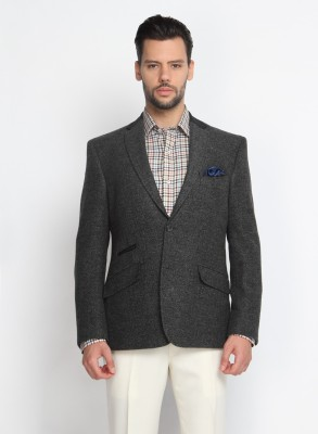 Suit Ltd Harringbone Single Breasted Casual Men's Blazer