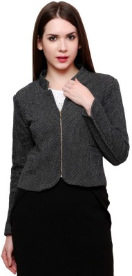 Pannkh Self Design Single Breasted Casual Women's Blazer