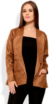 Sugar Her Solid Single Breasted Party Women's Blazer