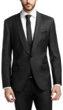 Menjestic Solid Tuxedo Style Party Men's...
