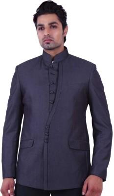Dresscode Self Design Single Breasted Wedding, Casual, Party, Formal Men's Blazer