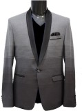 KM-NX Solid Double Breasted Casual Men's...