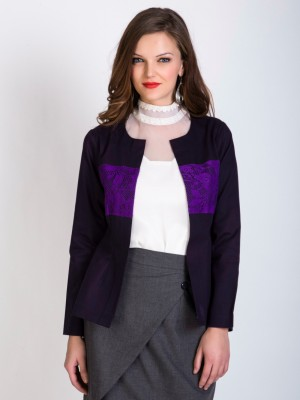 Sugar Her Solid Single Breasted Casual Women's Blazer