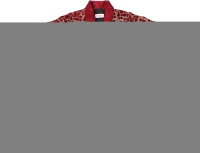 Fbbic Printed Single Breasted Casual Boy's Blazer