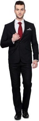 University of Oxford Solid Single Breasted Formal Men's Blazer