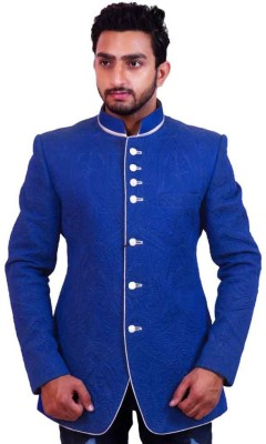 Dresscode Solid Single Breasted Wedding, Party, Casual Men's Blazer