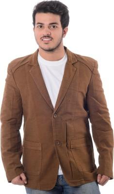 F4U Fashions Solid Double Breasted Casual Men's Blazer