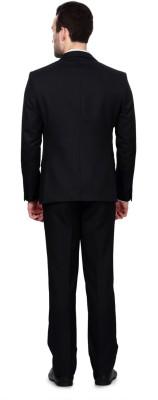 University of Oxford Solid Single Breasted Formal Men's Blazer
