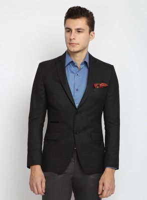Suit Ltd Checkered Single Breasted Formal Men's Blazer