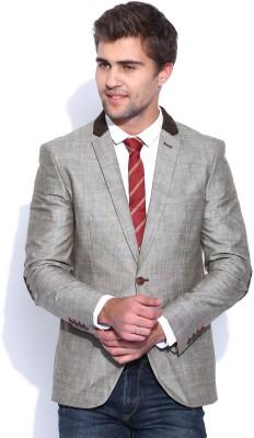 Harvard Solid Single Breasted Formal Men,s Blazer