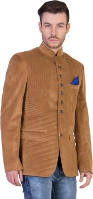 FashionSeva Solid Single Breasted Casual, Party Men's Blazer