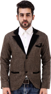 Koma Store Solid Single Breasted Festive Men's Blazer