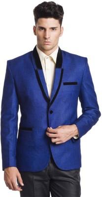 Belario Self Design Single Breasted Party Men,s, Boy's Blazer