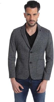 Jack & Jones Solid Single Breasted Casual Men's Blazer