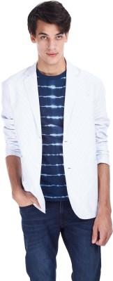 Zobello Striped Single Breasted Casual Men's Blazer
