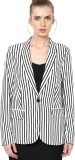 Vero Moda Striped Single Breasted Casual...